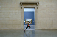 Running performance at the Tate