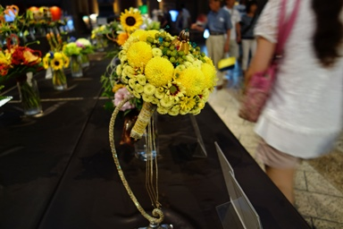 6th place Medalist bouquet competition in Tokyo