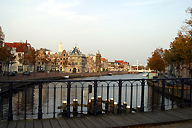 Beautiful bridge at Haarlem