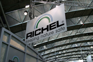 company slogan RICHEL at Horti Fair 2008